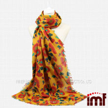 Шарф для Японии Sun Flower Wool Scarf