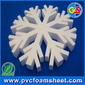 Fabricante de la hoja de la espuma del PVC de la decoración interior (6m m-18m m)