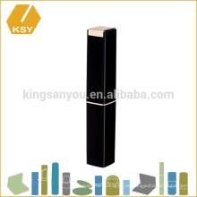 Múltiples formas de plástico delgado tubo contenedor vacío hacer su propio lápiz labial