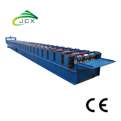 Steel Decking Sheet Forming Machine untuk Bangunan Komersial