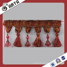 Franja de acessórios de cortina muito barata