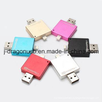 2015 Nuevo diseño OTG USB para iPhone y iPad
