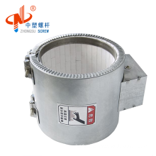 Mica ceramic infrared extruder barrel heater