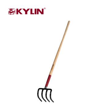 Garden Tool Long Handle Carbon Steel Fork Factory