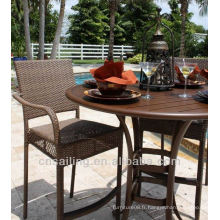 Hot sale Outdoor All Weather bar table et chaise