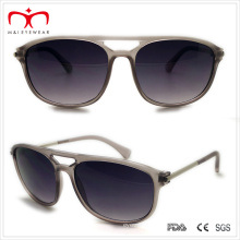 Plastic Men′s Sunglasses with Metal Temple (WSP508289)