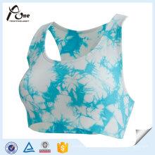 Sexy Fashion Active Wear Sublimation gedruckt benutzerdefinierte Sport-BH