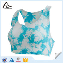 Sexy Fashion Active Wear Sublimation Printed Custom Sports Bra