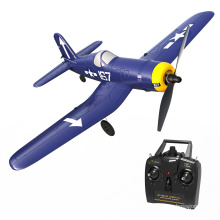 VOLANTEXRC RC Airplane F4U 2.4Ghz 4-CH Remote Control Aircraft Ready to Fly with gyro radio control toys for Beginner