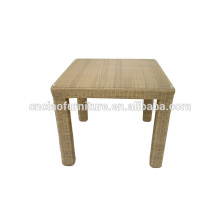 Durable exported furniture PE rattan table