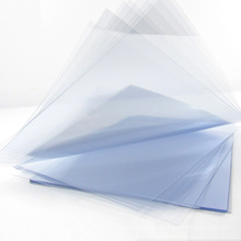 150 micron Clear PVC Sheet In A4 Size PVC Sheet For Book Cover