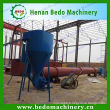 Séchoir en bois de sciure en bois de machine de séchage en bois de type coulant d'air de Chine fournisseur