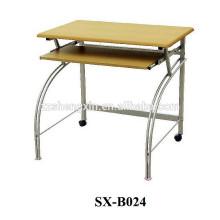 Офисный металлический стол для компьютера