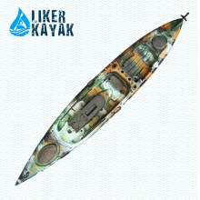 Angler Kayak Boat Seat & Trolley 2in1 4.3m Longueur