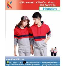 Maßgeschneiderter ärmelloser Hoodie für das Fitnessstudio / Hoodies mit Ärmeln für Paare