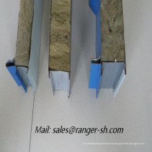 panel sandwich forma la máquina, máquina formadora de rollos de lana de roca
