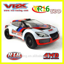 VRX Racing 1/16th 4WD brushed electric Rally, high speed RC toy with good quality