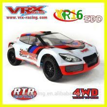 VRX Racing 1/16 4WD escovado Rally elétrico, brinquedo do RC de alta velocidade com boa qualidade