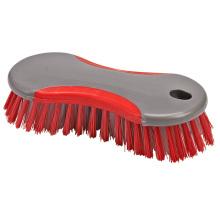 Cepillo de limpieza de plástico de uso general con agarre cómodo de cerdas de alta densidad