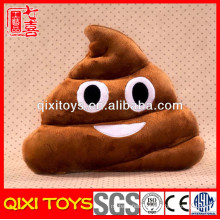 wholesale pillow cases car neck massage emoji pillow
