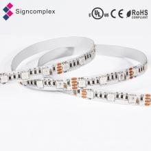 Bande LED flexible imperméable décorative colorée de RVB 3528 / 5050SMD IP65