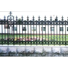 Clôture en fonte pour jardin et maison et maison / clôture ornementale densité fonte