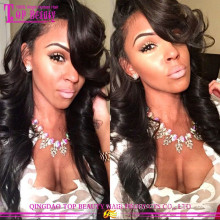 Wholesale cheap side part lace front wig unprocessed100% brazilian hair lace front wig
