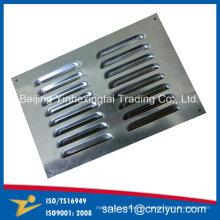 Rejilla de acero inoxidable personalizada por estampado de metal