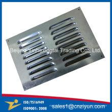 Grelha de aço inoxidável personalizada por estampagem de metal