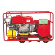 15KW Portátil tipo abierto generador diesel con ruedas (15GF)