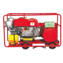 15KW Portable Open Type Diesel Generator With Wheels (15GF)