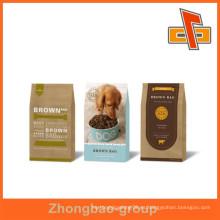 Material de embalaje bolsa de papel para alimentos de perro de calidad superior para alimentos con más de 10 años de experiencia de exportación