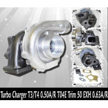 T04E T3/T4 Turbocharger Compressor housing: A/R.50,Turbine housing: A/R.84,Trim(exhaust):161.90