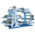 Machine d'impression de presse à étiquettes Flexo de sac en plastique de 4 couleurs