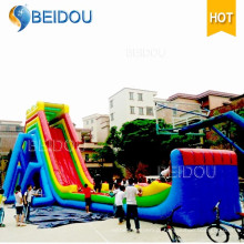 2016 Hot Sale Factory barato gigante adulto inflável Water Slide