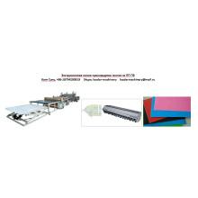 PP PE PS ABS Línea de extrusión de láminas de una o varias capas