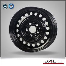 """15x7 """"shiny black color jantes aro de carro fabricados na China"""