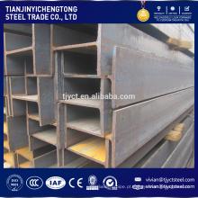 Fornecimento de fábrica l em forma de viga de aço, h preço do feixe de aço