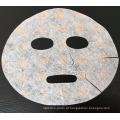 2017 Venda Quente Seco Rosa Descartável Imprimindo Cores folha de máscara facial
