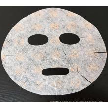 2017 Novo OEM ODM Impresso Beleza Facial Máscara Facial 3D Pink Rose Flor Máscara Facial Tecido