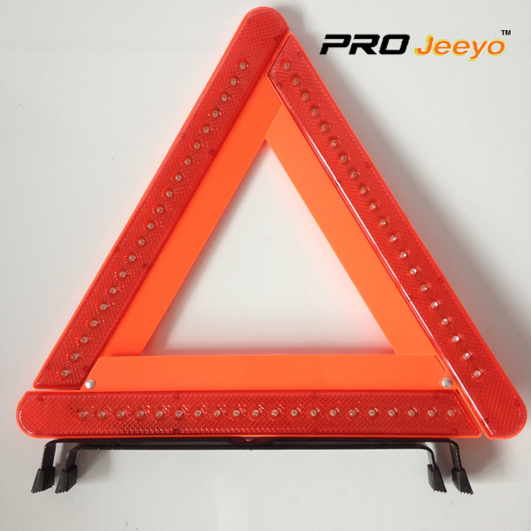 LED Flashing Light Warning Triangle DL-210 2