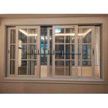 Тяжелое двойное / тройное остекление алюминиевого раздвижного окна (для гостиницы)