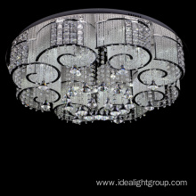 chrome led ceiling light chandelier decorative
