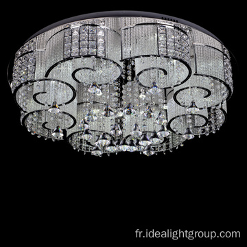 chrome led plafonnier lustre décoratif