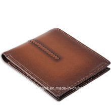 New Product Brown Vintage Fold Man Purse (ZX10205)