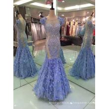 Лучшие продажи Русалка ЕС 32-40 тяжелых бисером вечернее платье