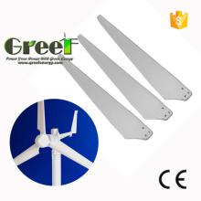 Cuchillas de molino de viento para la lámina de turbina de viento de eje horizontal