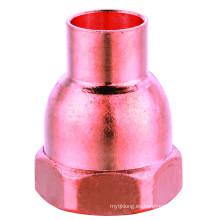 J9013 adaptador hembra FTGXF, conexión de tubería de cobre, adaptador m / f, UPC, NSF SABS, WRAS aprobado,