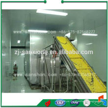 Vegetables Fruit and Seafood Fluidized iqf Freezer