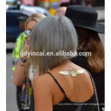 2017 High quality Custom flash metallic temporary tattoos Bride tribe sex gold tattoo sticker manufacturer>>> Yincai produce, Nontoxic makeup oriented gold tattoo sticker>>> Make up oriented gold sticker tattoo with factory price>>>